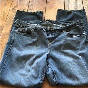 TORRID Barely Boot Light Wash Jeans